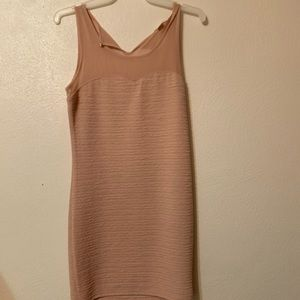 Nude Cocktail Dress (Forever 21)